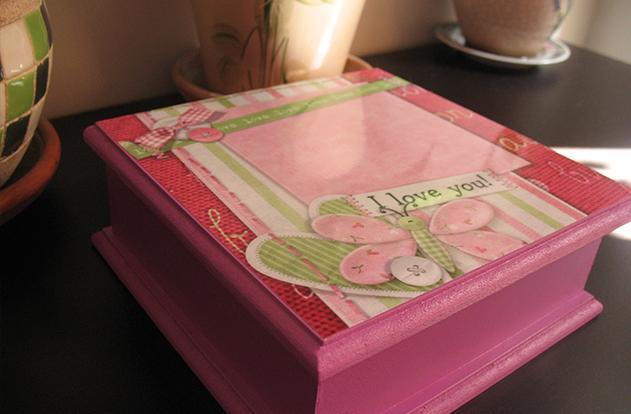 Pintura Sobre Madera Como Decorar Una Caja En Madera - Como-decorar-madera