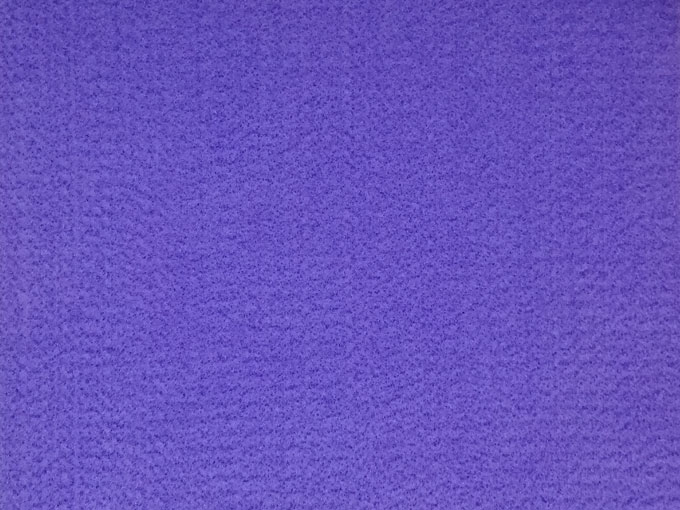 Paño lency o Fieltro morado de 2 mm