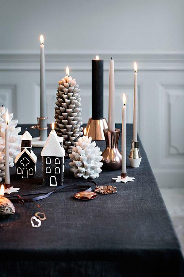 1 decoracion navidad negro