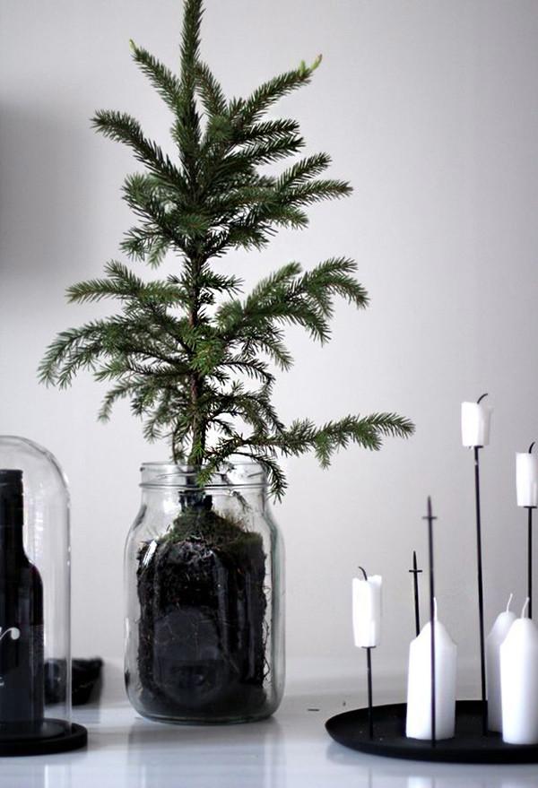 10 decoracion navidad negro
