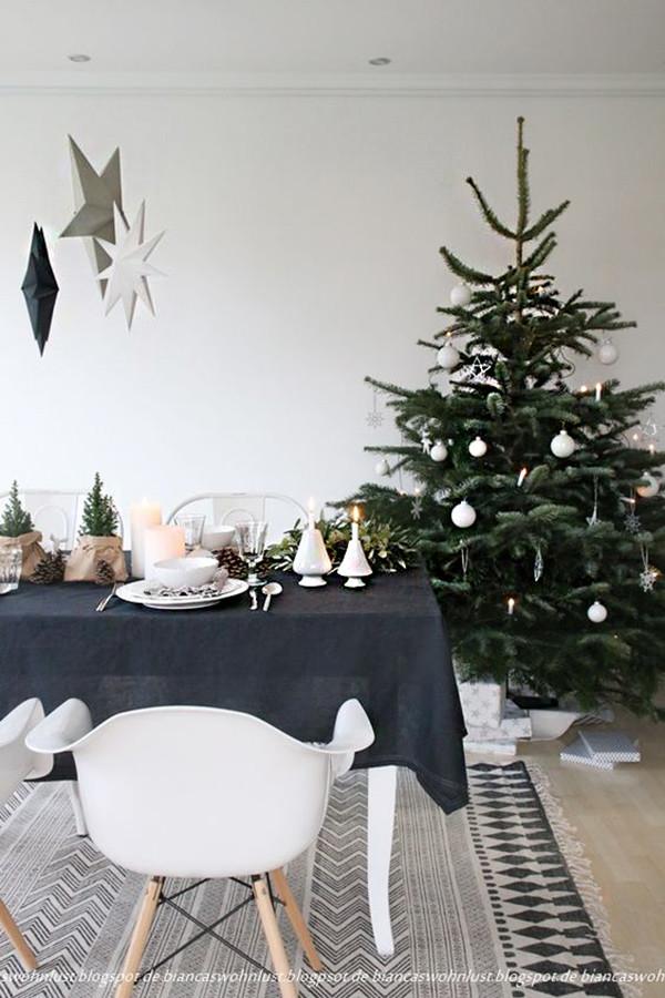 3 decoracion navidad negro