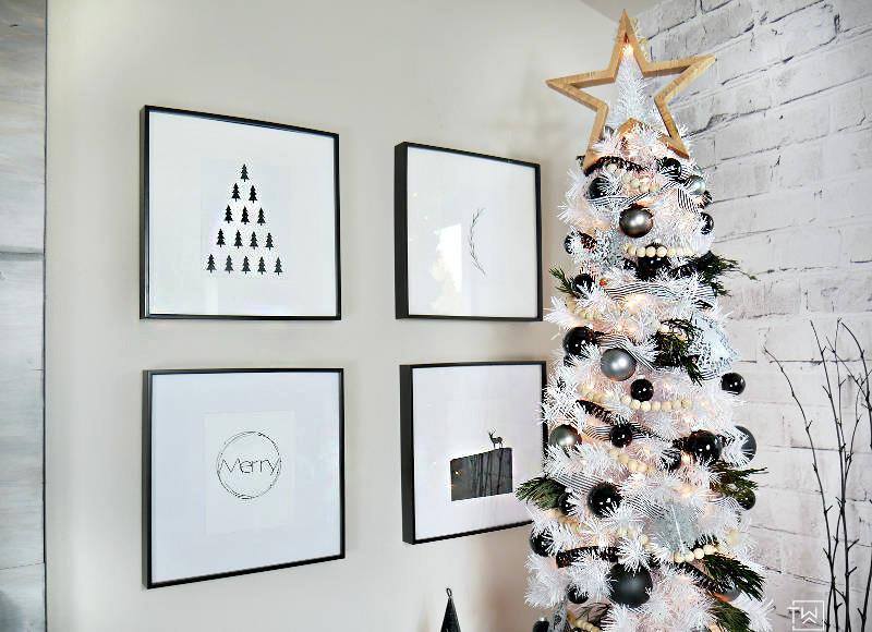 4 decoracion navidad negro