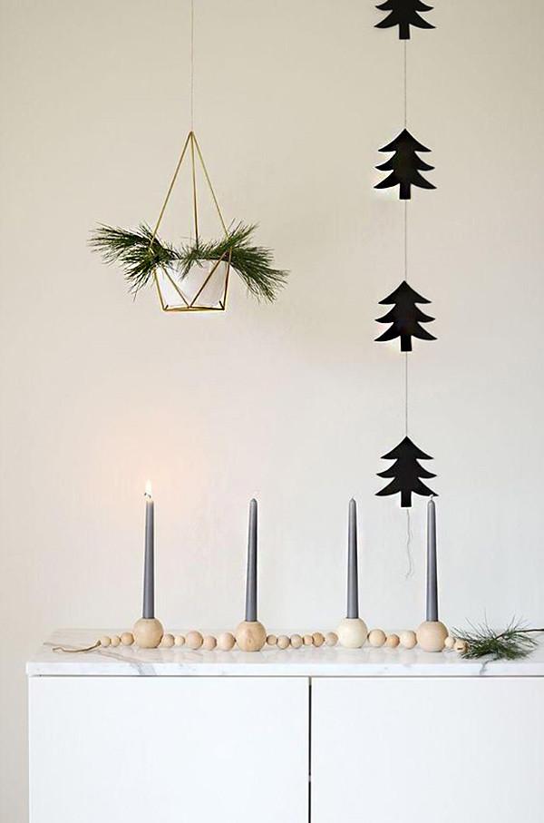 5 decoracion navidad balnco