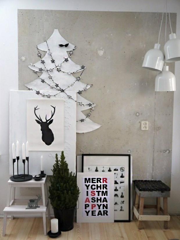 7 decoracion navidad negro