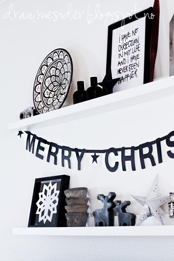9 decoracion navidad negro